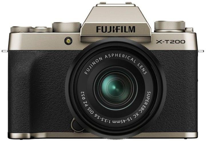 X-T200 Gold Kit XC 15-45mm Set appareil photo rhybrid FUJIFILM 785300150843 Photo no. 1