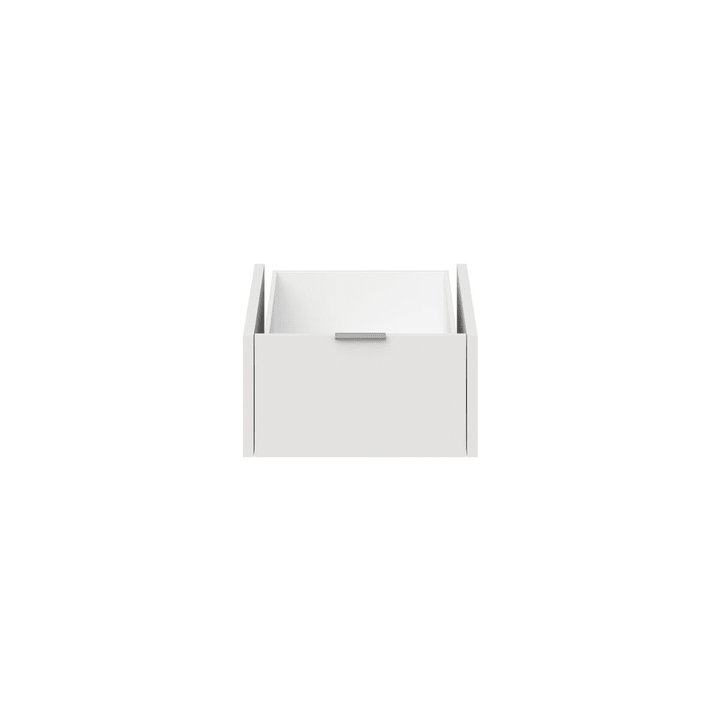 MILO Schublade schmal, hoch 364048327401 Grösse B: 48.4 cm x T: 53.0 cm x H: 25.0 cm Farbe Weiss Bild Nr. 1