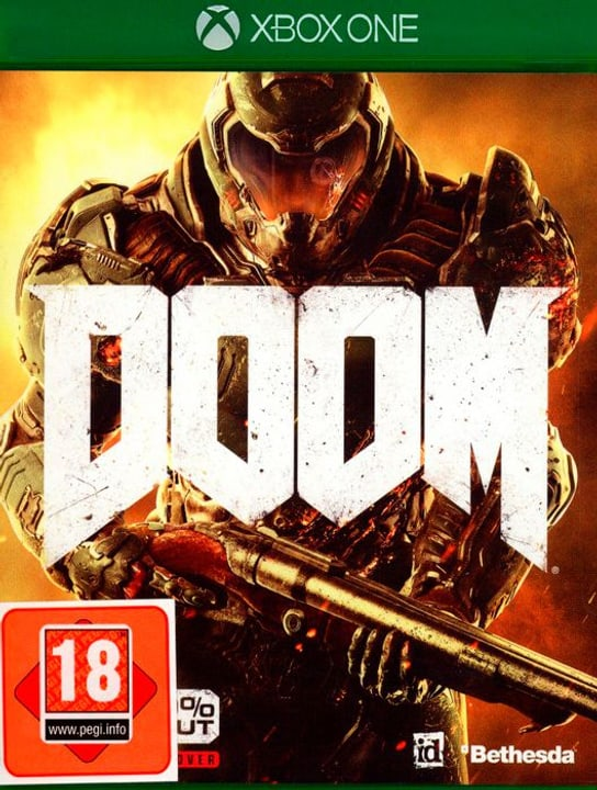 Xbox One - Doom Box 785300122189 Photo no. 1