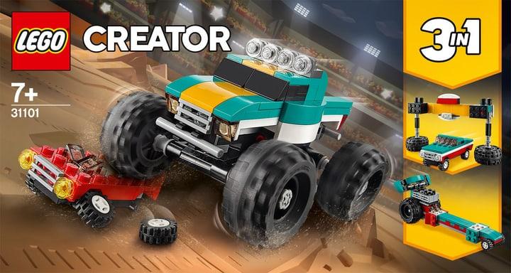 LEGO Creator 31101 Monster Truck 748733300000 Photo no. 1