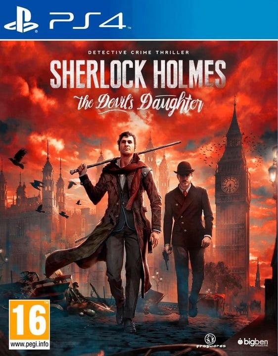 PS4 - Sherlock Holmes The Devils Daugter Box 785300120870 Photo no. 1