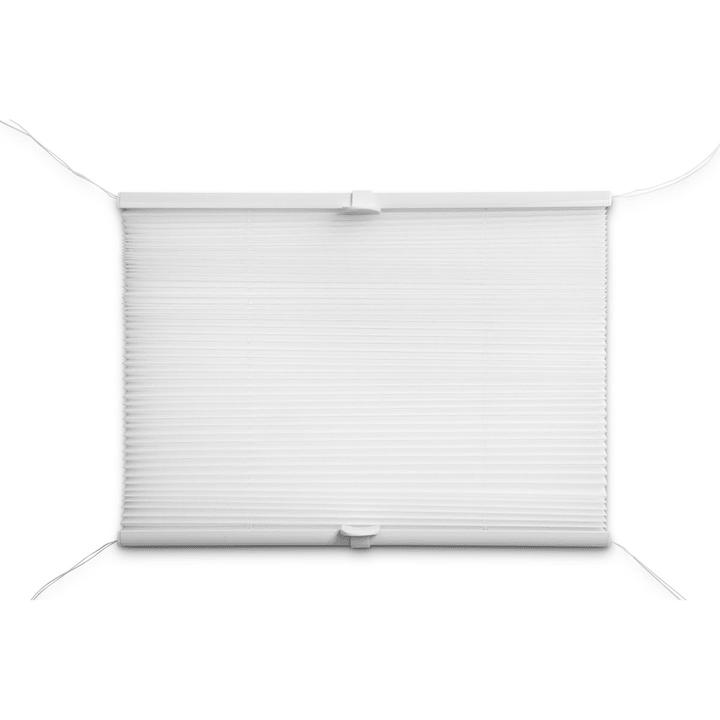 BASIC Store plissé 372102700000 Dimensions L: 100.0 cm x H: 160.0 cm Couleur Blanc Photo no. 1