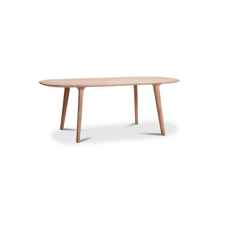 LUC Table chêne 366029724103 Dimensions L: 205.0 cm x P: 100.0 cm x H: 75.0 cm Couleur Chêne Photo no. 1