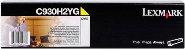 Toner C930H2YG, gelb Lexmark 785300126689 Bild Nr. 1