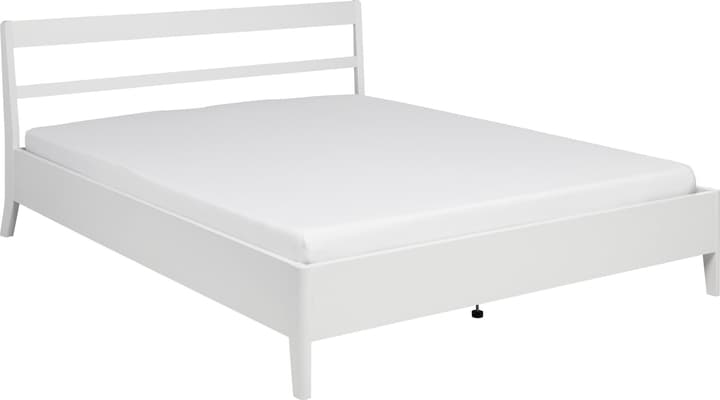 JULES Lit 404459900000 Couleur Blanc Dimensions L: 160.0 cm x P: 200.0 cm Photo no. 1