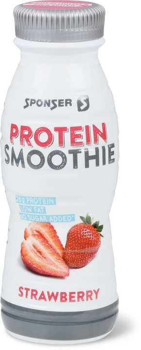 Protein Smoothie Smoothie Sponser 471966401410 Goût Fraise Couleur blanc Photo no. 1