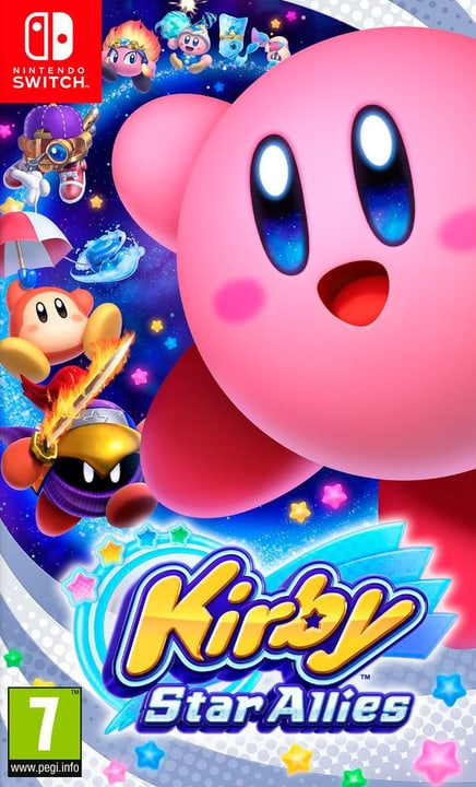 Switch - Kirby Star Allies Box Nintendo 785300132154 N. figura 1