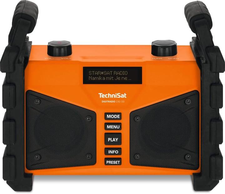Digitradio 230 OD - Orange Radio DAB+ Technisat 785300149719 Photo no. 1