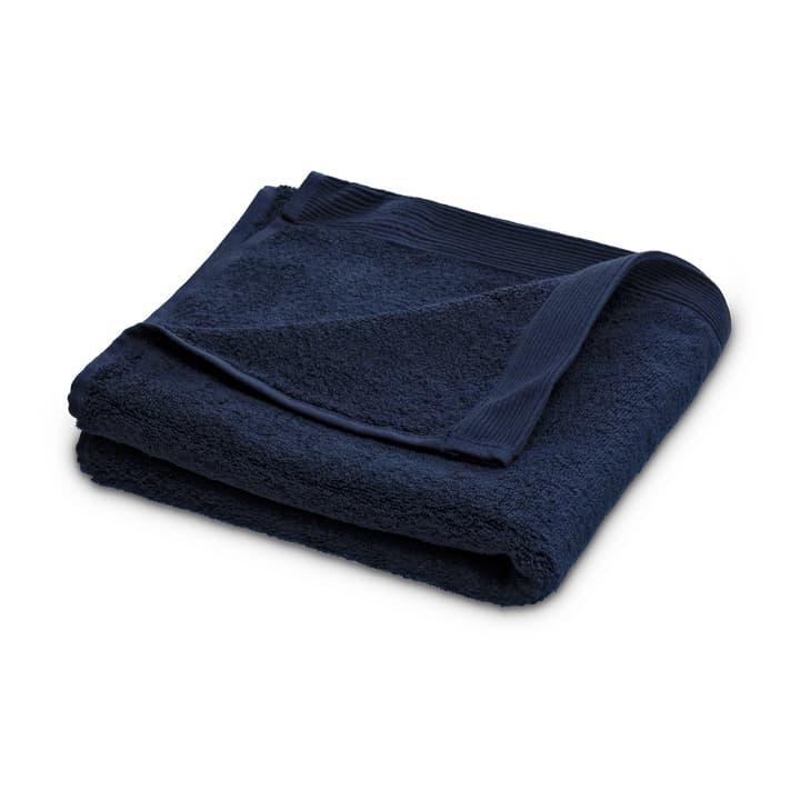 INARI Linge de douche Schlossberg 374202700000 Dimensions L: 70.0 cm x P: 140.0 cm Couleur Bleu Photo no. 1