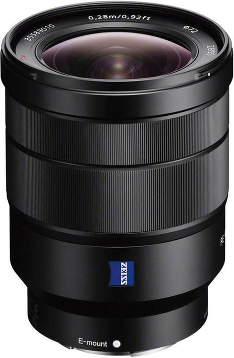 FE 16-35mm F/4 T* ZA OSS Objectif Objectif Sony 793427100000 Photo no. 1
