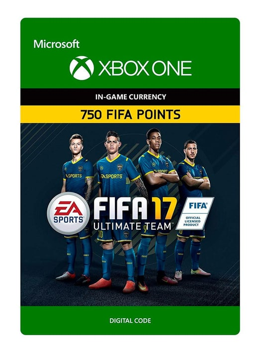 Xbox One - FIFA 17 Ultimate Team: FIFA Points 750 Digital (ESD) 785300137372 Photo no. 1
