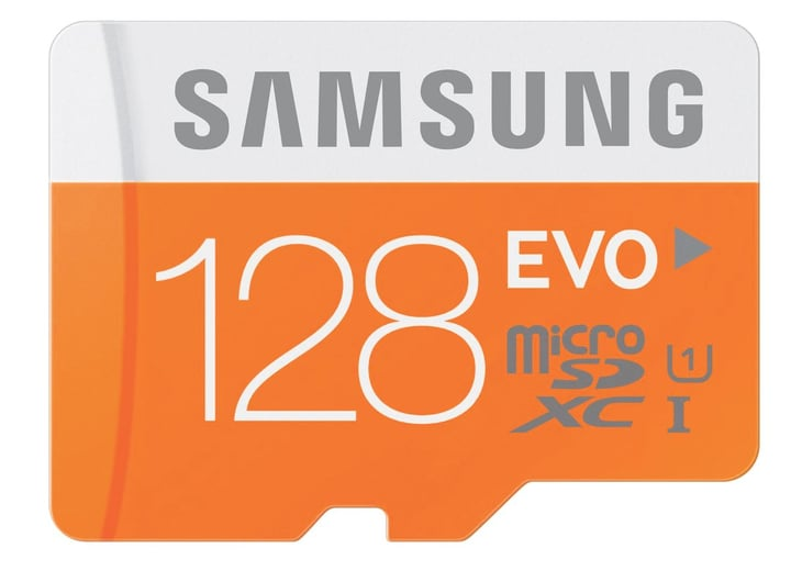 microSDXC Card Evo 128GB Micro SD Samsung 797954700000 Photo no. 1