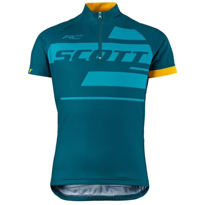 Shirt Jr RC Team s/sl Maglietta da ciclismo per bambini Scott 462876612865 Colore petrolio Taglie 128 N. figura 1