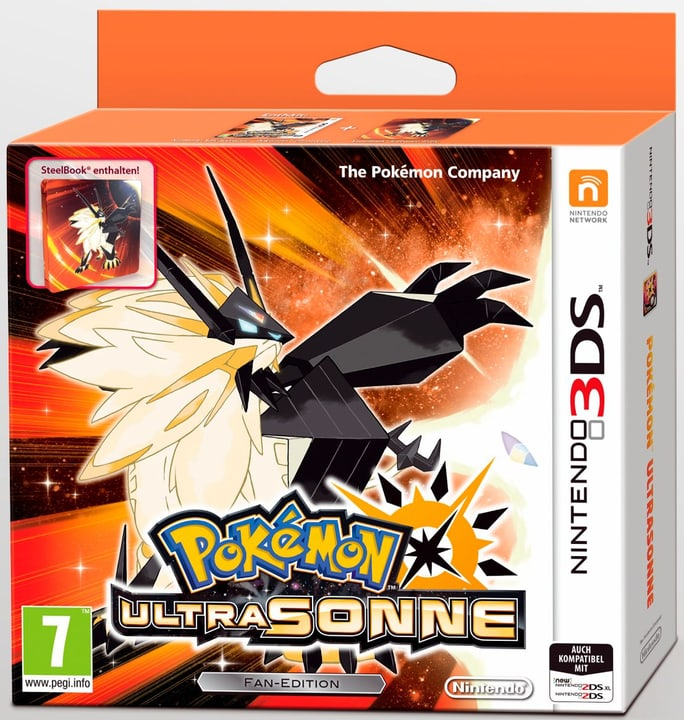 3DS - Pokémon Ultra-Soleil - Fan Edition 785300129010