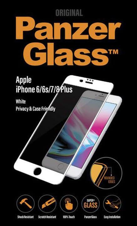 Privacy iPhone 6/6s/7/8 Plus - weiss Schutzfolie Panzerglass 785300134575 Bild Nr. 1