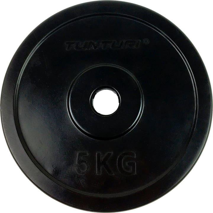 Disque de poids 5kg, caoutchouté, 30mm Tunturi 463083200000 Photo no. 1