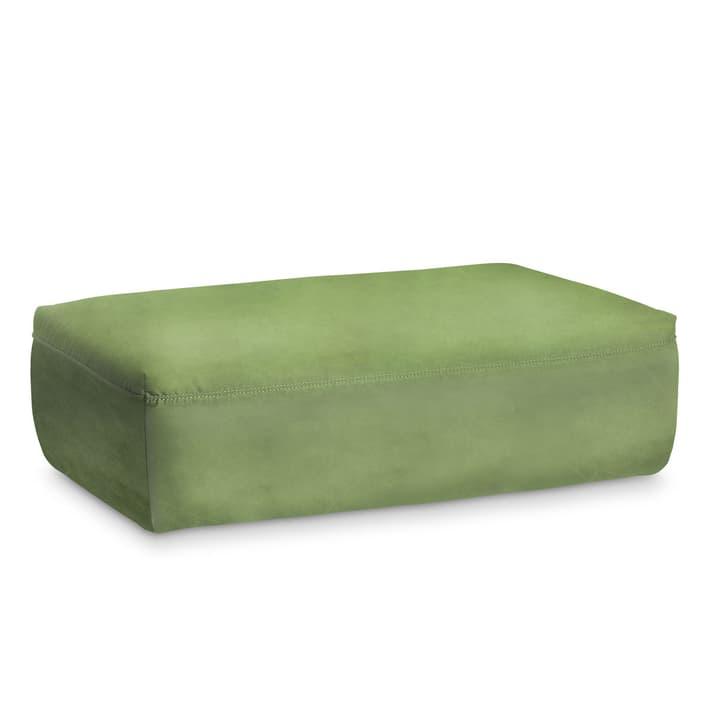 UTOPIA poggiapiedi di pelle 360049224407 Dimensioni L: 126.0 cm x P: 73.0 cm x A: 40.0 cm Colore Verde N. figura 1