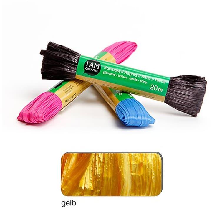 Rafia lucente I AM CREATIVE 665524600070 Colore Giallo N. figura 1