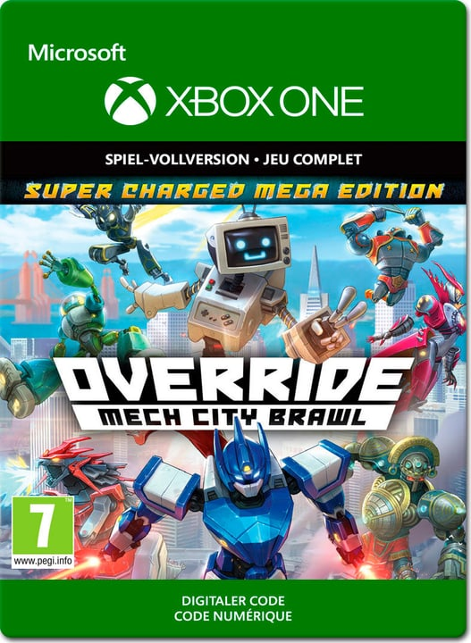 Xbox One - Override Mech City Brawl - Super Charged Mega Edition Download (ESD) 785300141399 N. figura 1