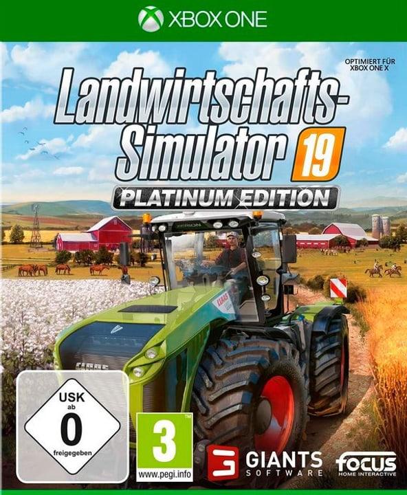 Xbox One - Landwirtschafts-Simulator 19 - Platinum Edition D Box 785300146816 Photo no. 1
