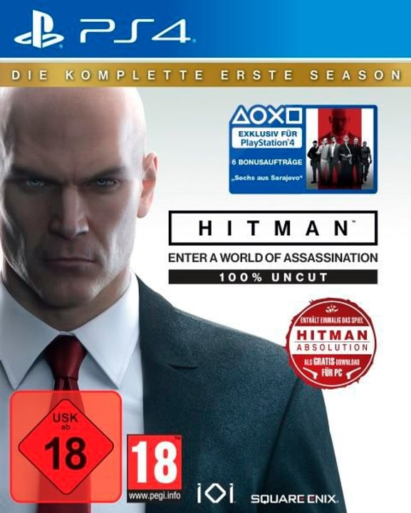 PS4 - HITMAN: Die komplette erste Season (D) Box 785300131705 Photo no. 1
