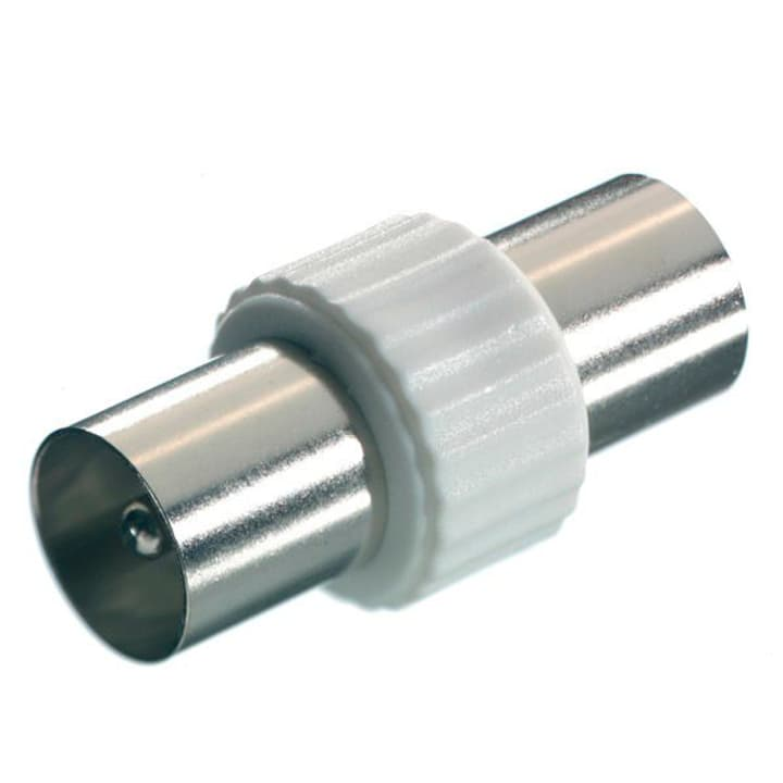 Koaxial-Doppelstecker Antennen Adapter Vivanco 770801200000 Bild Nr. 1