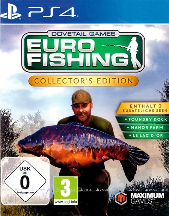 PS4 - Euro Fishing Collector's Edition D Box 785300132136 Photo no. 1