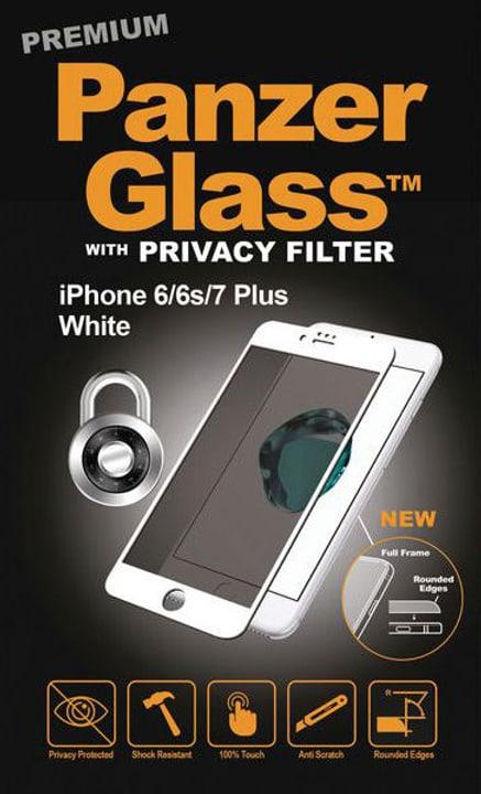 Premium Privacy weiss Schutzfolie Panzerglass 785300134571 Bild Nr. 1