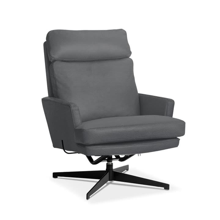 AIDEN Sessel 360040871307 Grösse B: 75.0 cm x T: 90.0 cm x H: 105.0 cm Farbe Dunkelgrau Bild Nr. 1