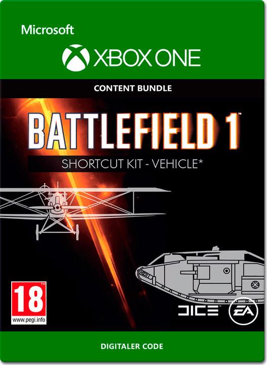 Xbox One - Battlefield 1: Shortcut Kit: Vehicle Bundle Download (ESD) 785300138677 Bild Nr. 1
