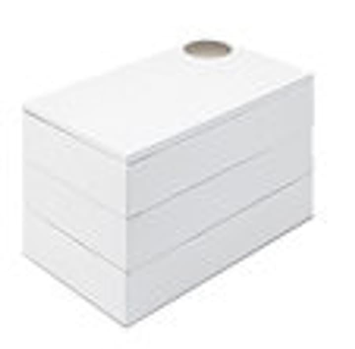 SABELA broche Boîte 442075100710 Couleur Blanc Dimensions L: 12.0 cm x P: 12.0 cm x H: 13.0 cm Photo no. 1