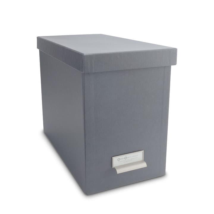 BIGSO CLASSIC Boîte à archives 386018650003 Dimensions L: 35.0 cm x P: 19.0 cm x H: 26.5 cm Couleur Gris Photo no. 1