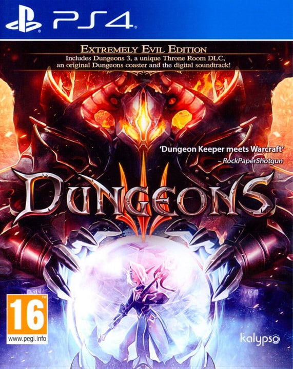 PS4 - Dungeons 3 Physique (Box) 785300129726 Photo no. 1