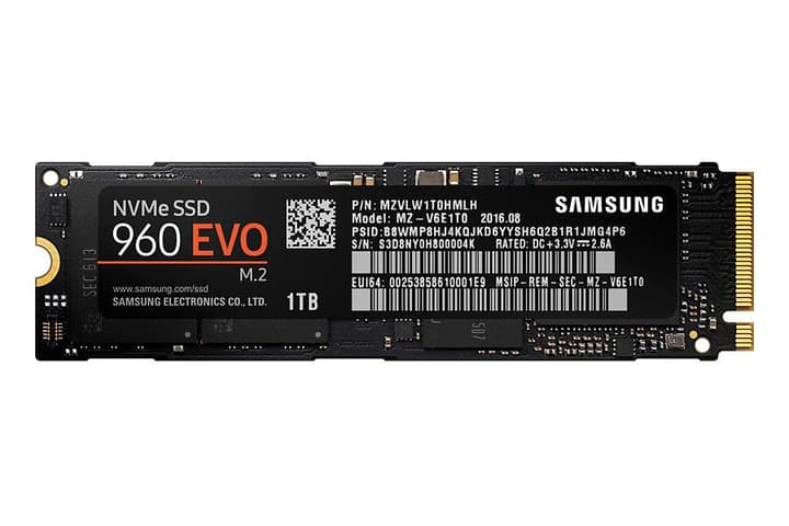 SSD 960 EVO 1To M.2 2280 Disque Dur Interne SSD Samsung 785300125099 Photo no. 1