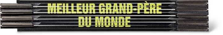 """Métre pliant """"MEILLEUR GRAND-PÈRE DU MONDE"""", SCHWARZ/GELB"""" 603690500000 Photo no. 1"""