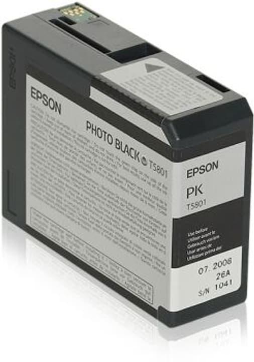 T5801 photo black Tintenpatrone Epson 798282100000 Bild Nr. 1