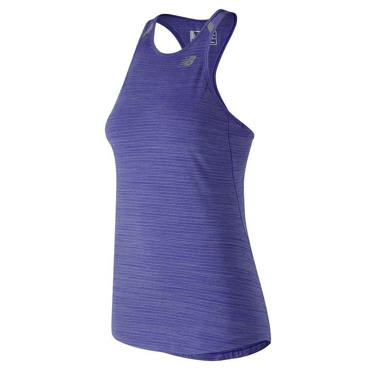 SEASONLES TANK Haut pour femme New Balance 470155200240 Couleur bleu Taille XS Photo no. 1