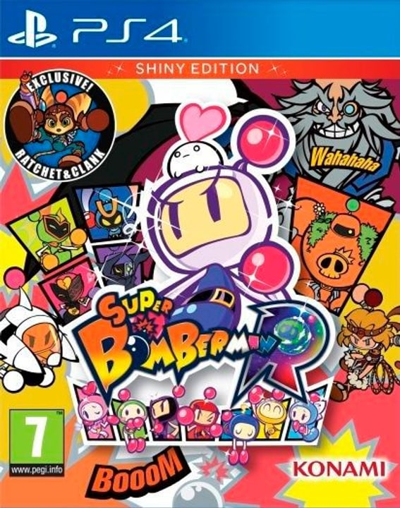 PS4 - Super Bomberman R - Shiny Edition (D/F) Physisch (Box) 785300134846 Bild Nr. 1