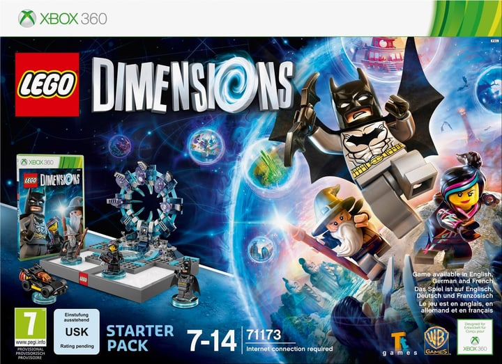 XBox 360 - LEGO Dimensions Starter Pack Physique (Box) 785300119835 Photo no. 1