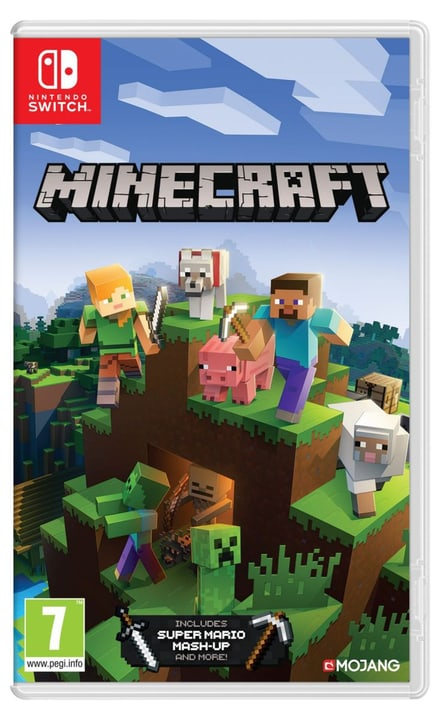 NSW -   Minecraft Nintendo Switch Edition I Box Nintendo 785300135881 Langue Italien Plate-forme Nintendo Switch Photo no. 1