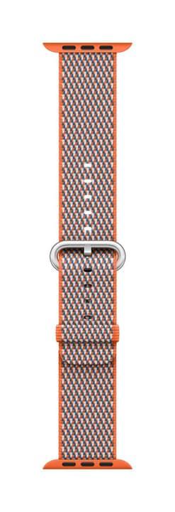 38mm Spicy Orange Check Woven Nylon Bracelet Apple 785300130646 Photo no. 1