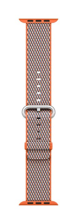 42mm Spicy Orange Check Woven Nylon Bracelet Apple 785300130655 Photo no. 1