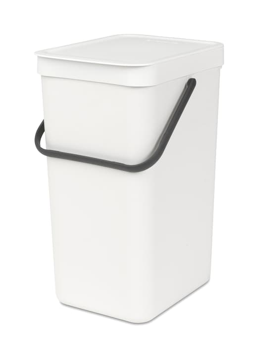 SORT & GO Poubelle brabantia 441129401610 Couleur Blanc Dimensions L: 22.0 cm x P: 27.9 cm x H: 40.1 cm Photo no. 1