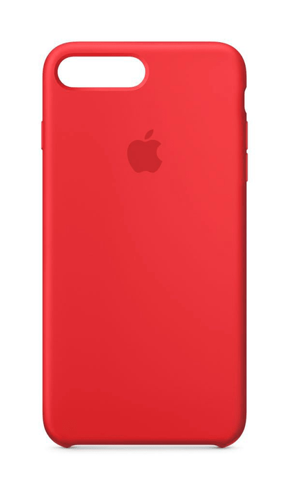 iphone 8 coque silicone rouge