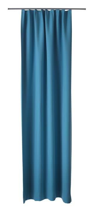 DULCINA Fertigvorhang blickdicht mit Gleitern 430253021344 Farbe Türkis Grösse B: 140.0 cm x H: 260.0 cm Bild Nr. 1
