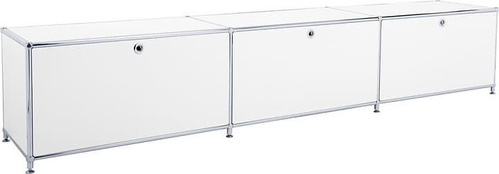 FLEXCUBE Buffet bas 401813530110 Dimensions L: 227.0 cm x P: 40.0 cm x H: 44.5 cm Couleur Blanc Photo no. 1