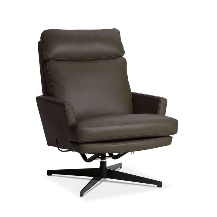 AIDEN Sessel 360049649802 Grösse B: 75.0 cm x T: 90.0 cm x H: 105.0 cm Farbe Braun Bild Nr. 1