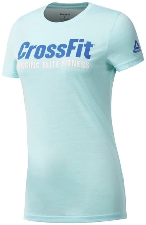 FEF SPEEDWICK Shirt pour femme Reebok 464926100425 Couleur aqua Taille M Photo no. 1