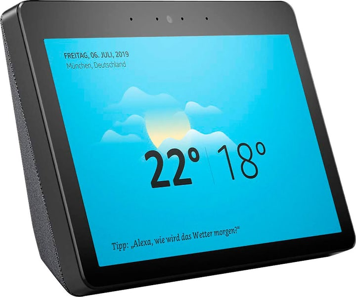 Echo Show (2nd Gen.) - Noir Smart Speaker Amazon 785300143222 Photo no. 1