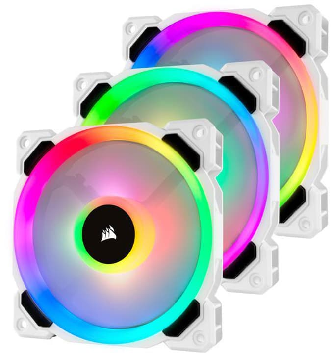 LL120 RGB Triple Pack mit Lighting PC-Lüfter Corsair 785300147343 Bild Nr. 1